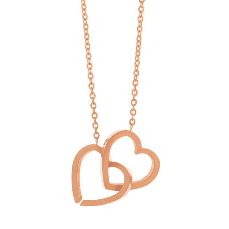 Little Joined Hearts Necklace