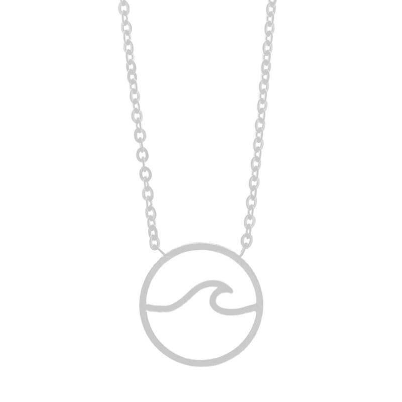 Little Wave Necklace - Brother & Sisters