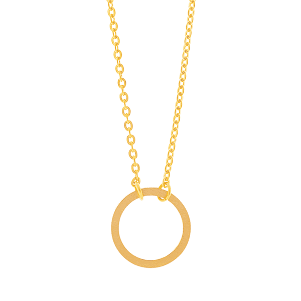 Little Circle Necklace - Brother & Sisters
