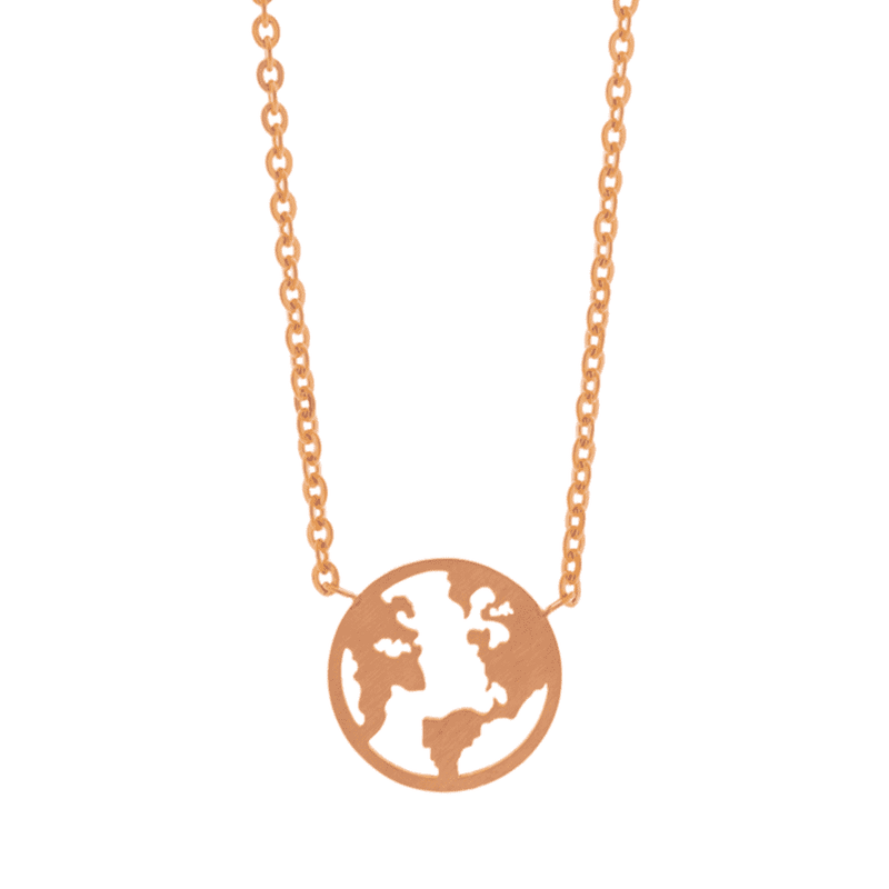 Little Earth Necklace - Brother & Sisters