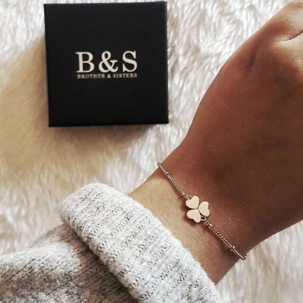 Three-Leafed Clover Bracelet - Brother & Sisters