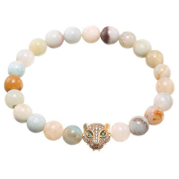 Leopard & Natural Stones - Brother & Sisters