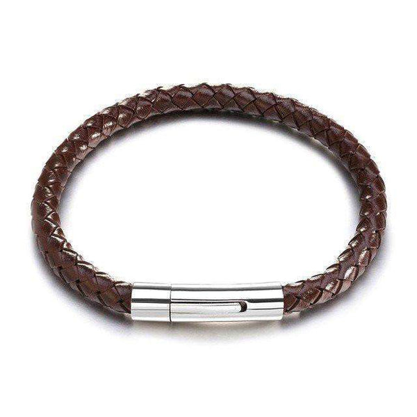 Brother & Sisters bracelet Brown Leather