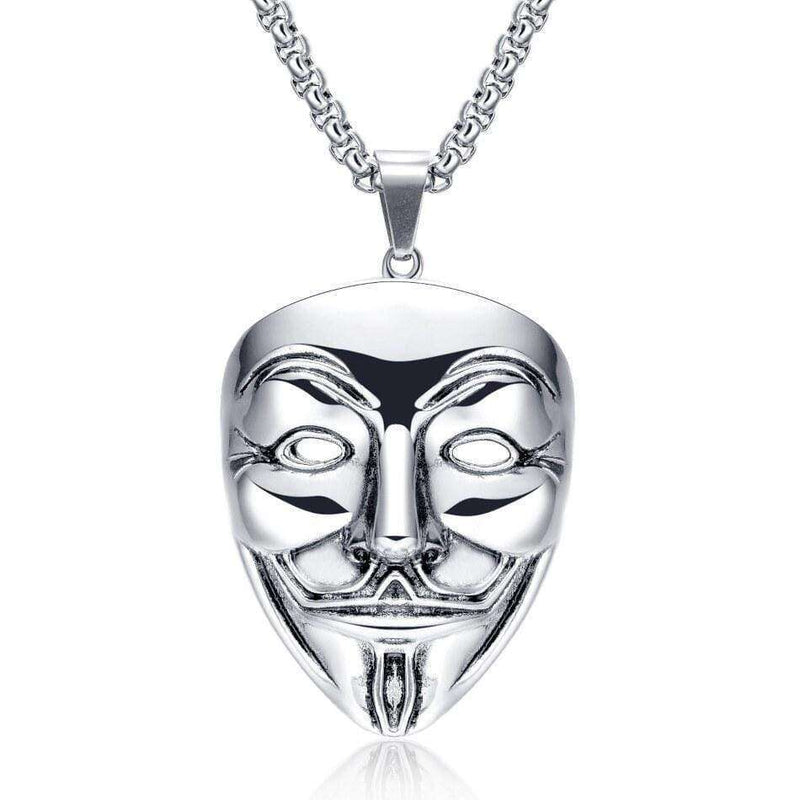 Brother & Sisters necklaces 18k White Gold Vendetta Necklace