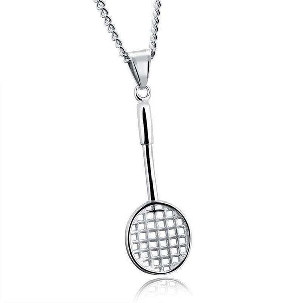 Brother & Sisters necklaces Badminton Racket Necklace