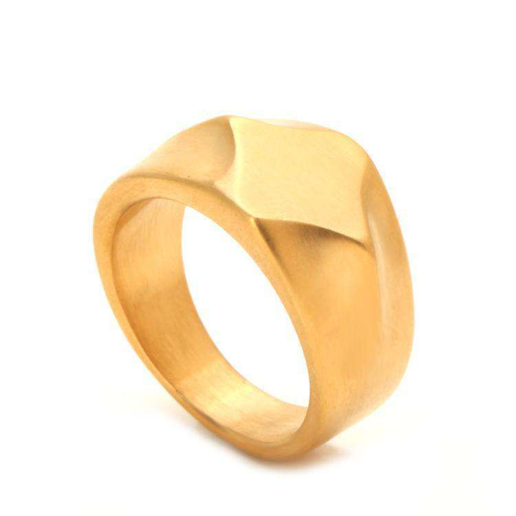 Brother & Sisters ring 6.2cm / 2.44inch / 24k Gold Solid Ring