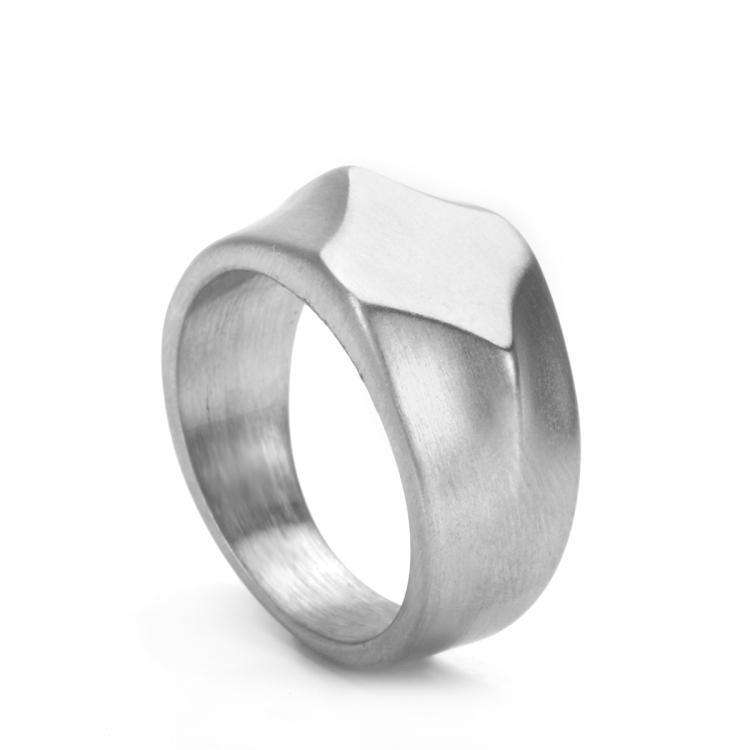 Brother & Sisters ring 6.2cm / 2.44inch / Steel Solid Ring