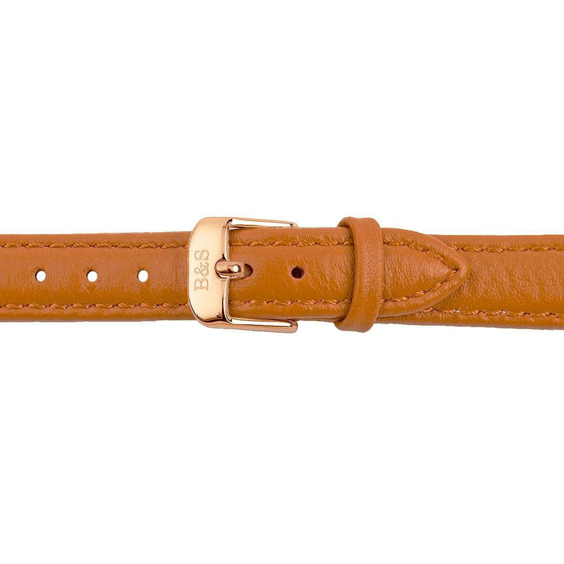 Brown Leather Strap & Rose Gold Buckle - Brother & Sisters