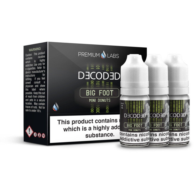 Decoded - BIG FOOT - 3x10ml