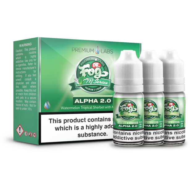 Dr. Fog - M Series - Alpha 2.0 - 3x10ml
