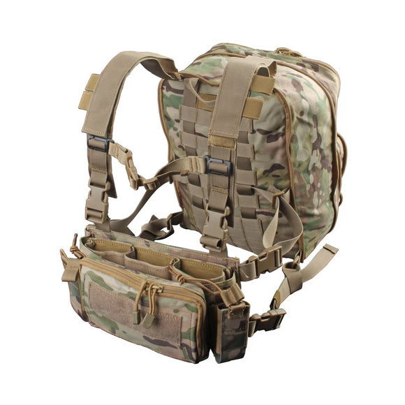 MCR Micro Chest Rig (For AR-15 Mags) w/ Assault Flatpack
