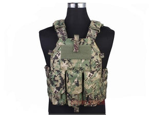 Plate Carrier with Side Plate and Mag Pouches
