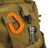FREE Bag/Gear Velcro Carabiner Hook
