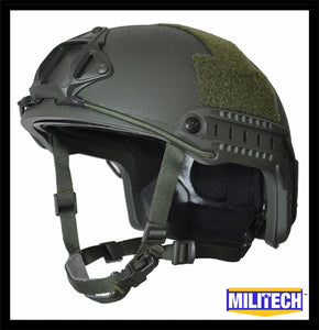 FAST High Cut Helmet - Level NIJ IIIA - OD Green