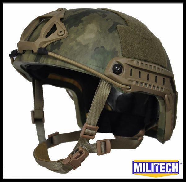 FAST High Cut Helmet - Level NIJ IIIA - ATACS FG