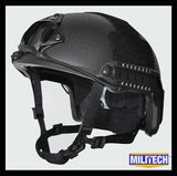 FAST High Cut Helmet - Level NIJ IIIA - Black