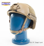 FAST High Cut Helmet - Level NIJ IIIA - Coyote Tan