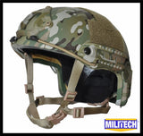 FAST High Cut Helmet - Level NIJ IIIA - Multicam