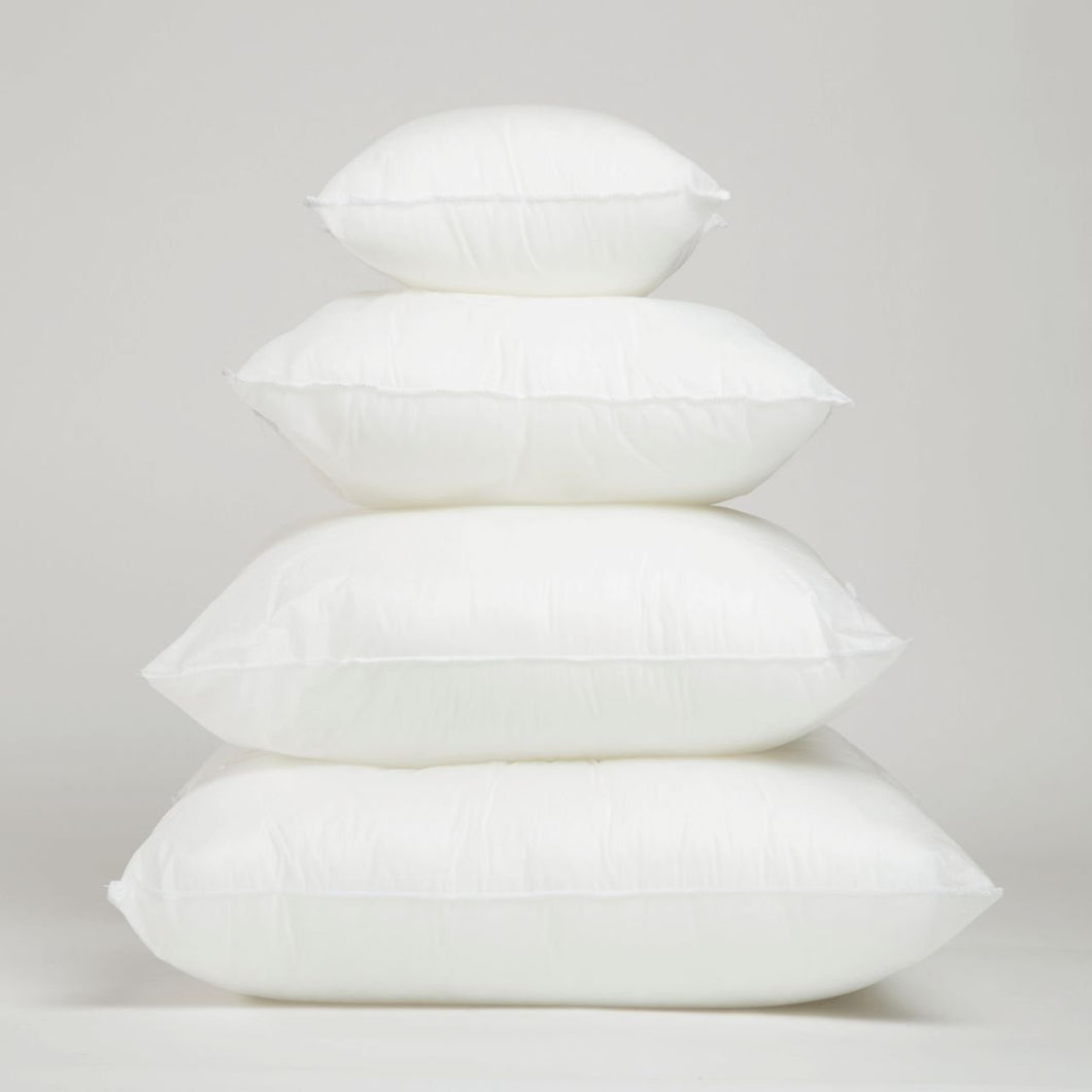 Square & Rectangle Pillow Inserts (4 Sizes)