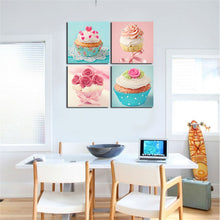Cream Cake Wall Art Framed Ready To Hang