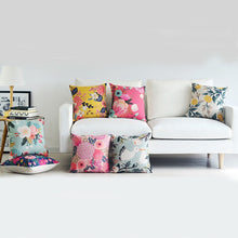 Floral Pop Pillow Covers (Assorted Patterns)