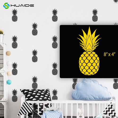 Pineapple Wall Stickers Decal Mural 20pcs/set