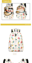 Pineapple Tropical Backpacks - 2 Styles