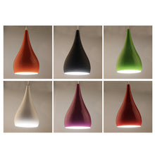Modern Simplicity Cord Pendant Light Fixture in Assorted Colors