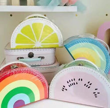 Kids Rainbow Watermelon Lemon Small Suitcase