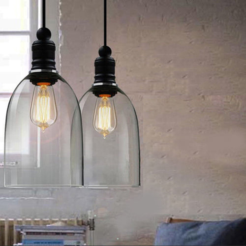 Industrial  Modern Rustic Bell Shape Pendant Lamp Ceiling Light Fixture