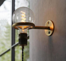 Vintage Retro Industrial Loft Ring Wall Sconce Light Fixture