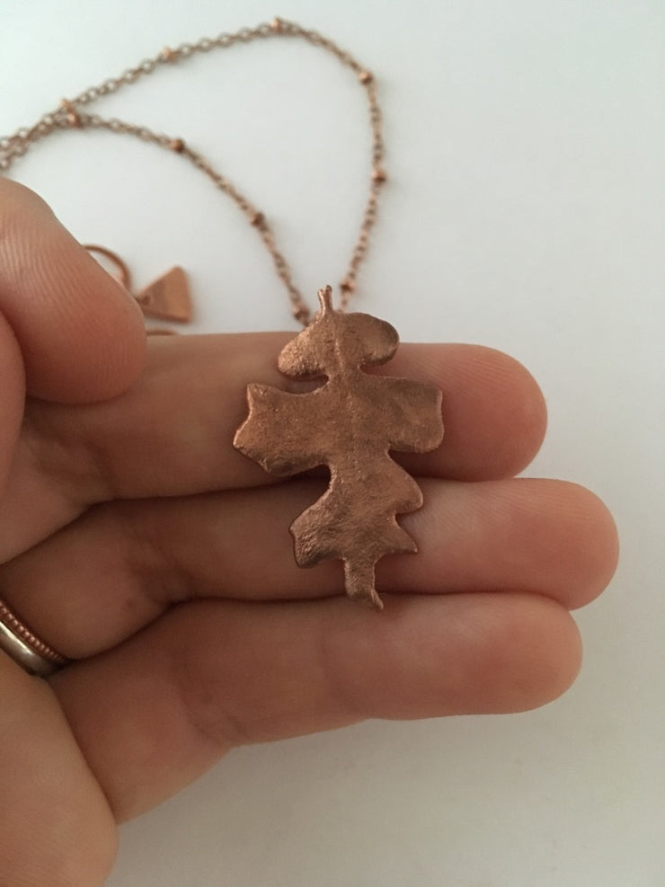 Tiny Mystery Oak Pendant