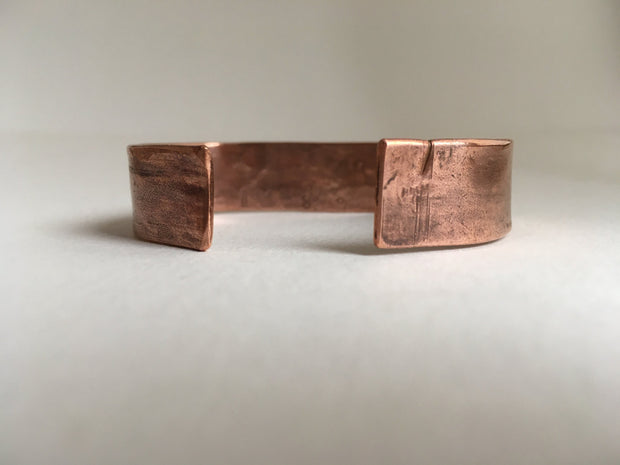 All you need is love affirmation Recycled Copper mantra Bracelet
