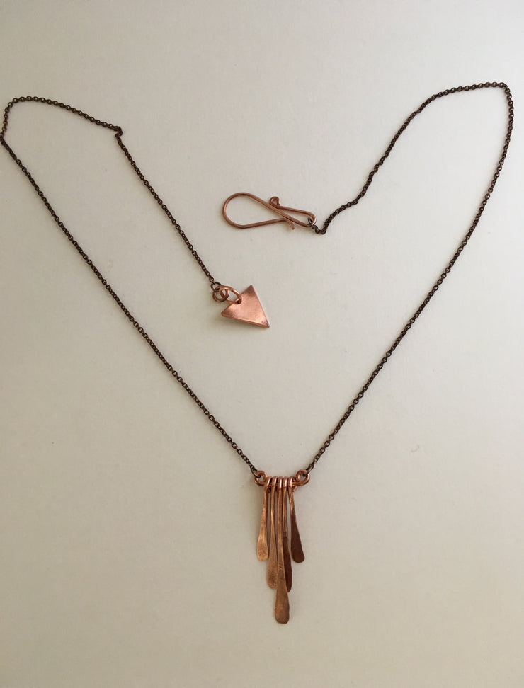 recycled copper fringe electrical wire upcycle simple wealth