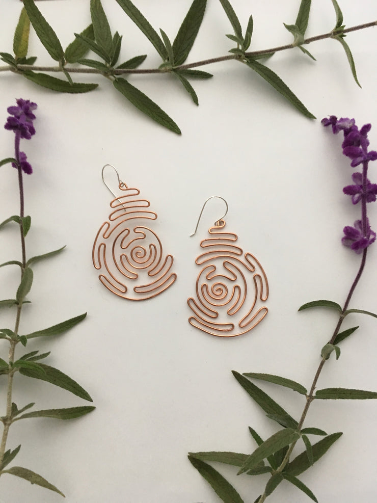 Labyrinth Earrings