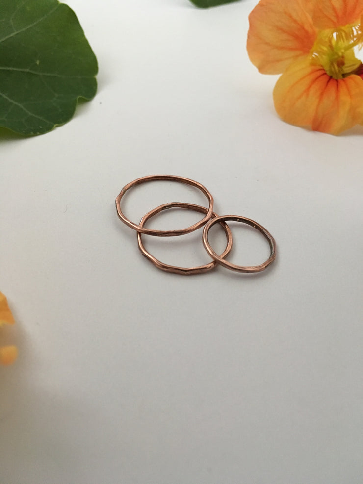 Copper Electrical Wire Stacking Ring