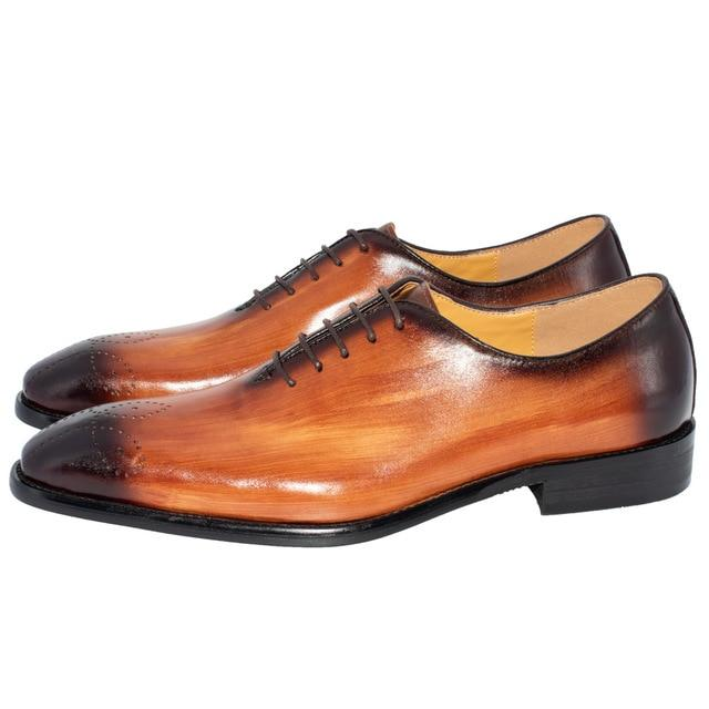 Leather Shoes Italian Design Hand-polished