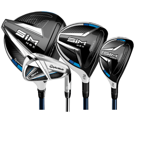 SIM Max Complete Set: Left, Stiff, Platinum (Like New)