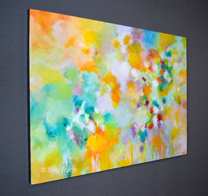 Lightness, Original Large Abstract Painting for Sale