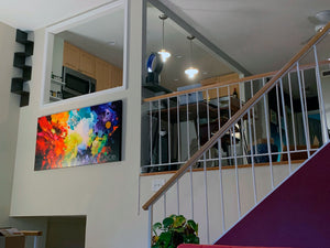 """Harmonic Vibrations"" Giclee Prints in Beautiful Homes"