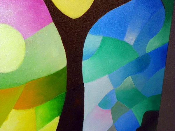 Dreaming Tree, giclee prints on canvas by Sally Trace