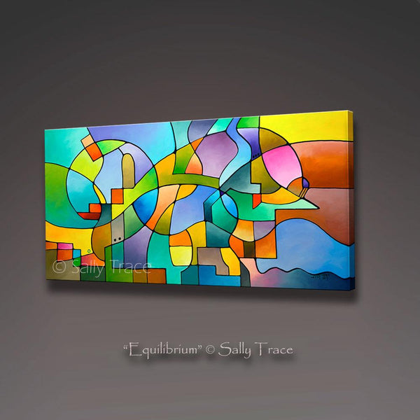 Equilibrium, contemporary art for sale by Sally Trace