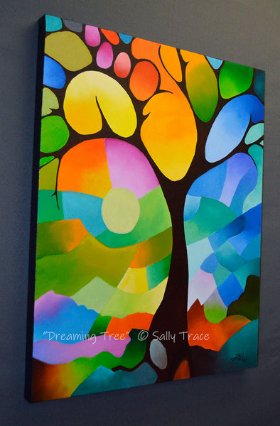 """Dreaming Tree"" Original Painting Commission"