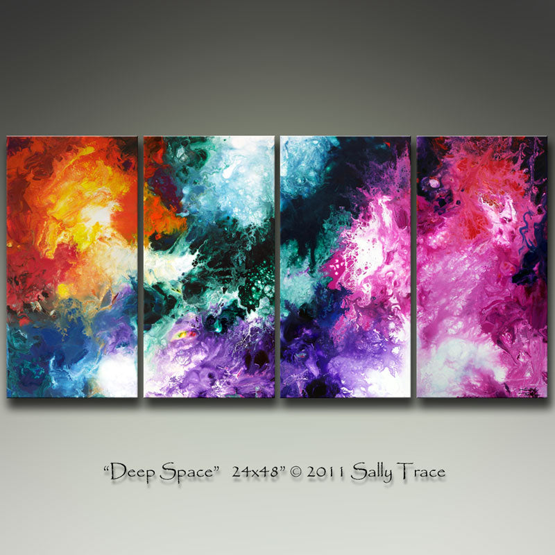 Deep Space, Original Abstract Painting