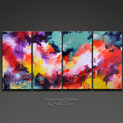 Something Sublime, giclee print set on stretched canvas