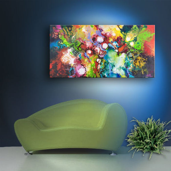Inspiratus, giclee print on stretched canvas