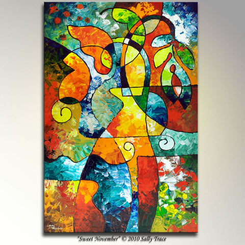 Sweet November, canvas giclee print