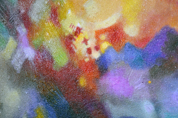 Abstract art painting by Sally Trace Points of Light