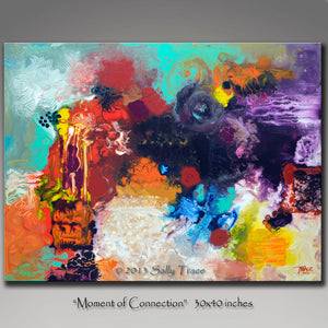 Moment of Connection, Giclee Print