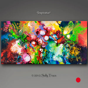 Inspiratus, Original Abstract Painting, sold